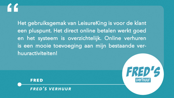 Review Fred's Verhuur